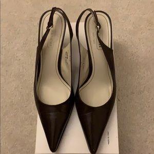 Coach Alena kid leather heels
